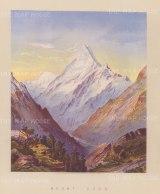 Aoraki (Mount Cook): View from Hooker Valley.