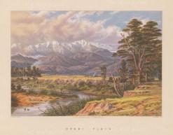 Opaki Plain: View over the plain towards the Tarawera ridge.