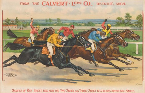 Racing: From one of the leading American lithographic and engraving establishments.