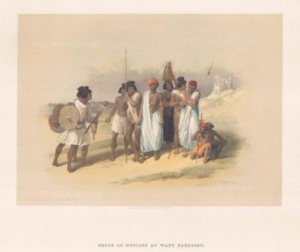 Wady Kardassy: Nubian Inhabitants at the Temple.