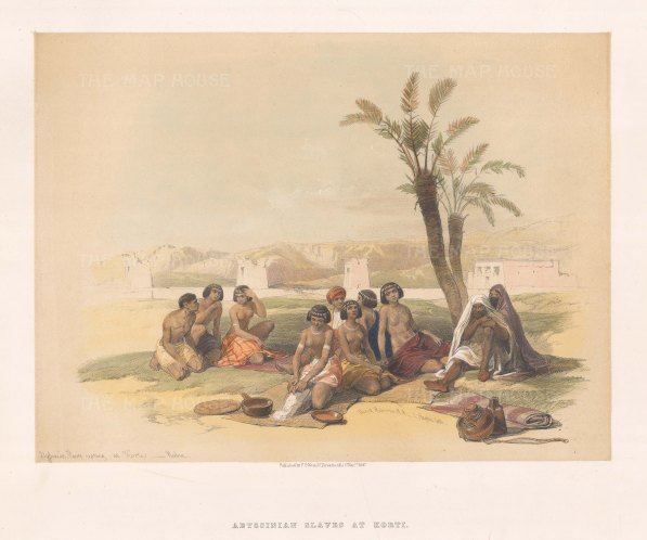 Nubia: Abyssinian Slaves at Korti.