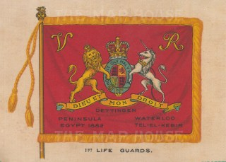 Household Cavalry: Life Guards.
