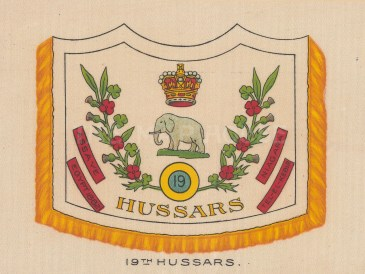 19th Royal Hussars, amalgamated to the 15th/19th.