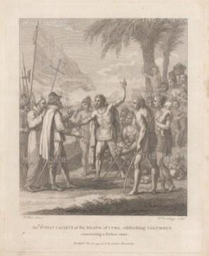 Cuba: Reception of Christopher Columbus.