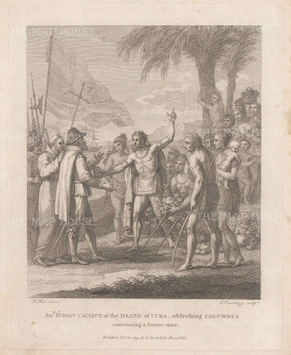 Cuba: Reception of Christopher Columbus.