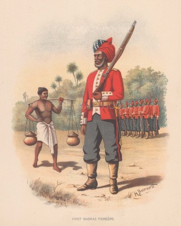 First Madras Pioneers. India.