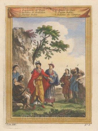 """Bellin: Quito, Ecuador. 1751. A hand coloured original antique copper engraving. 6"""" x 8"""". [SAMp1425]"""