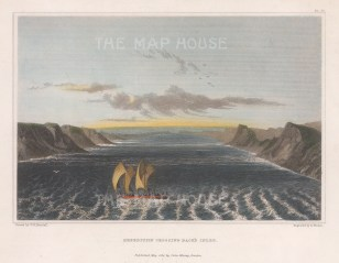 Back's Inlet: Expedition Crossing. Franklin's MacKenzie River Expedition 1824-26.