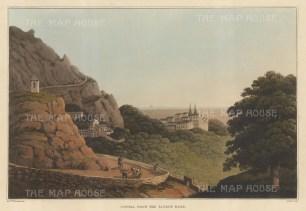 """Bradford: Cintra. 1815. An original colour antique aquatint. 13"""" x 9"""". [PORp102]"""