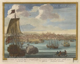 Panoramic view of Lisbon and the Tagus