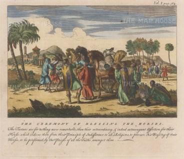 Siberia: Tartar Ceremony of Blessing the Horses