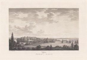 "Thersner: Ulfasa, Sweden.1820. An original antique aquatint. 13"" x 9"". [SCANp282]"