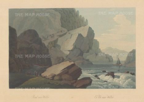 "Boydell: Waller, Norway. 1820. An original colour antique aquatint. 14"" x 10"". [SCANp326]"