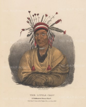 Little Crow: A Celebrated Sioux Chief.