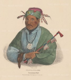 Chat-O-Nis-See: Pottowattomie Chief.