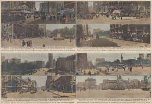New York City: Broadway, Fifth Avenue, Columbus Circle and Monument.