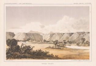 Teton Valley: View of the Teton range.