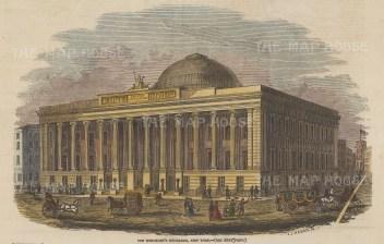 Merchant's Exchange, 55 Wall Street.