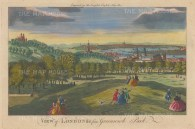 Panorama from One Tree Hill Greenwich: Overlooking Greenwich Hospital to St Paul's.