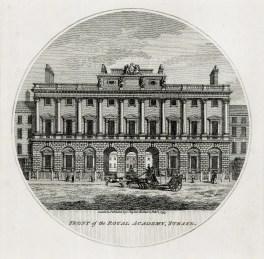 """Baugean: Royal Academy. 1796. An original antique copper engraving. 6"""" x 6"""". [LDNp10060]"""