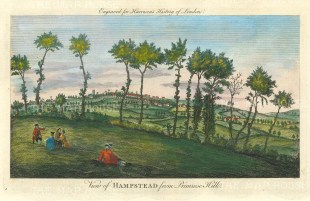 Hampstead from Primrose Hill.