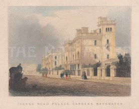 Queen's Road Palace Gardens, Bayswater.