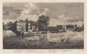 "Boydell: Twickenham. 1753. An original antique copper engraving. 17"" x 11"". [LDNp8370]"