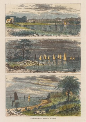 Connecticut: Roton Point, Wilson's Point and Norwalk.