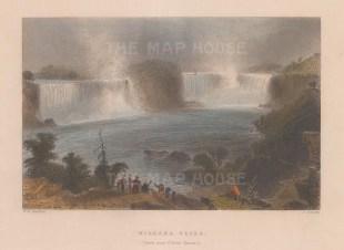 Niagara Falls: View from near Clifton House.