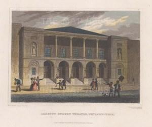Philadelphia: Theatre on Chestnut Street.