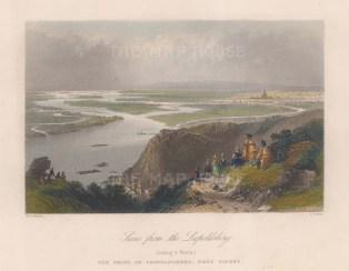 Danube from the Leopoldsberg.