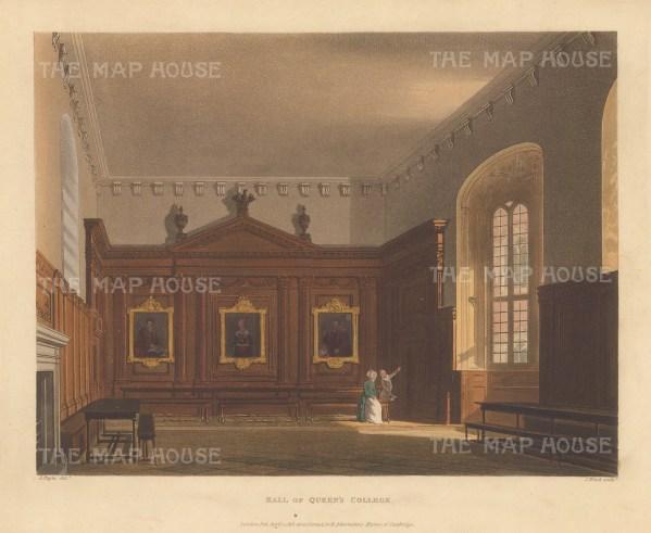 Interior of the Hall.