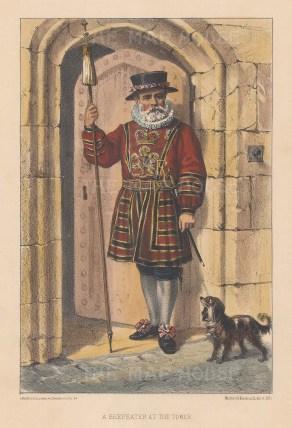 Yeoman Warder in Tudor state dress.