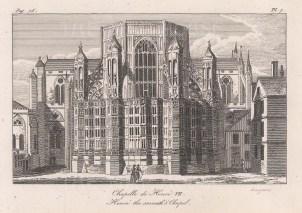 Chapel of Henry VII.