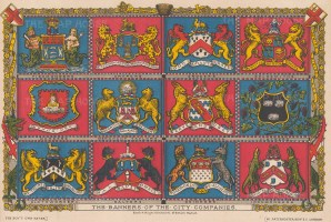 The Banners of the City Companies from Fishmongers to Ironmongers.