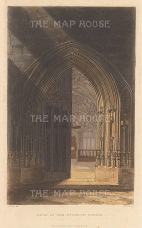 View of the entrance door added to the medieval building by Sir Christopher Wren in 1669.