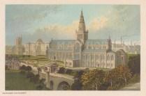 "Nelson: Glasgow Cathedral. c1890. An original antique chromolithograph. 5"" x 3"". [SCOTp1633]"
