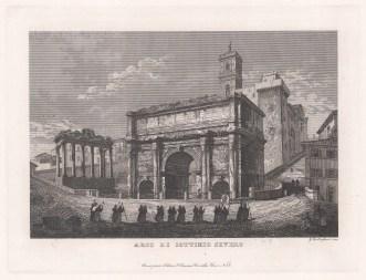 Arch of Septimius Severus.