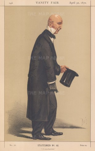 A Risen Barrister. Sir John Coleridge, Chief Justice of Common Pleas. ARG