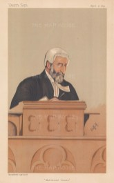 Matrimonial Causes. Sir Francis Jeune, judge in the Probate, Divorce and Admiralty Division of the High Court. STUFF