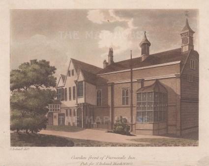 Garden front. Inn of Chancery.