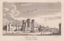 "Baugean: St James's Palace. 1814. An original antique copper engraving. 6"" x 4"". [LDNp9515]"
