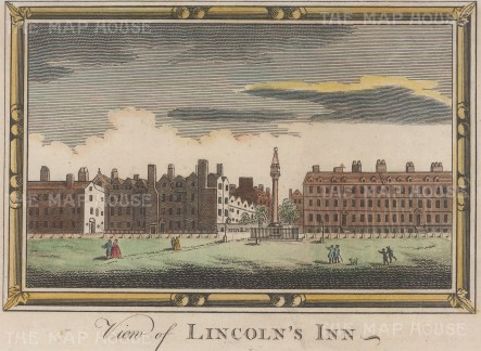 View over Lincoln's Inn Fields.
