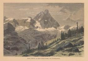 Matterhorn: View from Val Tournanche.