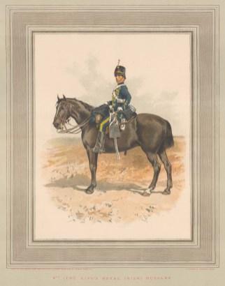 8th King's Royal Irish Hussars, amalgamated to the Queen's Royal Irish Hussars.