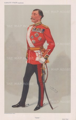 A much decorated officer, Scots Guards, Paget fought most notably in the 2nd Boer War with Lord Roberts. SPY.