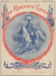 "Illustrated London News: Lord Roberts of Kandahar. 1901. An original antique chromolithograph. 12"" x 15"". [MILp145]"