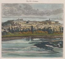 Panoramic view of the city and Mondego river.
