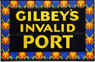"""McCorquodale: Gilbey's Invalid Port. 1930. An original vintage chromolithograph. 30"""" x 20"""". [POSTERp169]"""