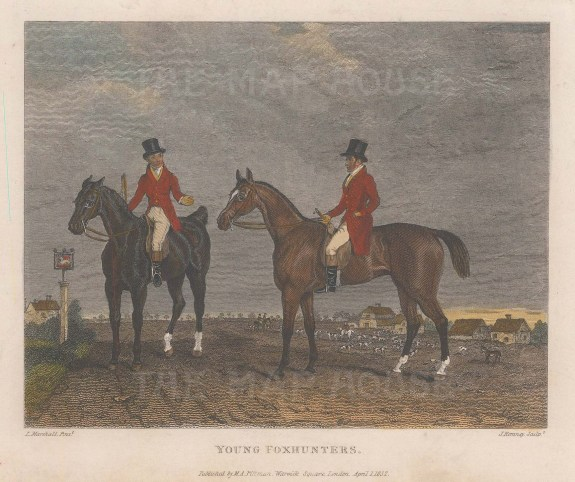 Young Foxhunters.
